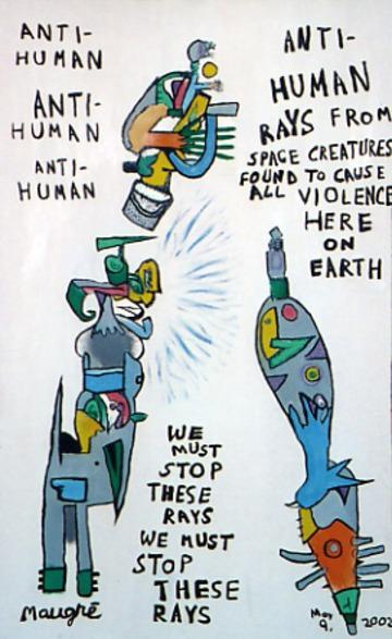 Maurice Greenia, Jr. Collections: Anti Human Rays