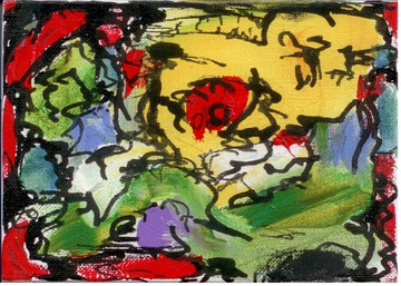Maurice Greenia, Jr. Collections: Little Landscape (in France, 1996)