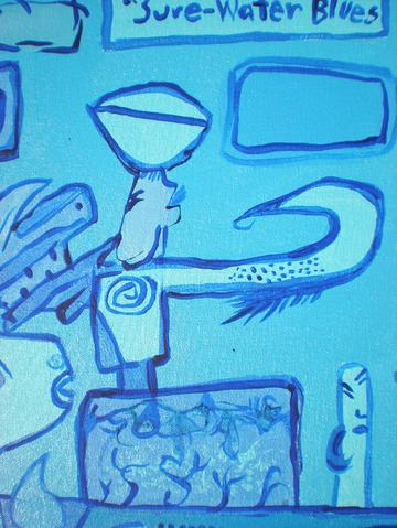 Maurice Greenia, Jr. Collections: Sure Water Blues, detail