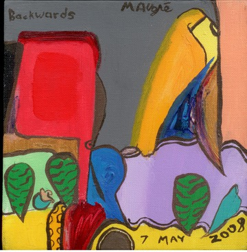 Maurice Greenia, Jr. Collections: Backwards