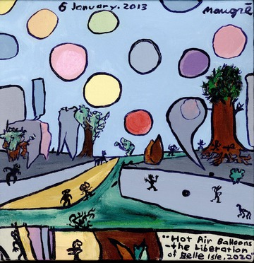 Maurice Greenia, Jr. Collections: Hot Air Balloons-the Liberation of Belle Isle, 2020