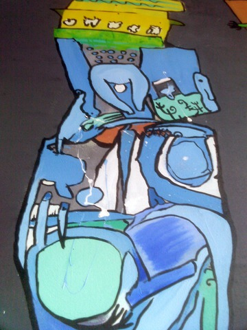 Figure Three, Detail