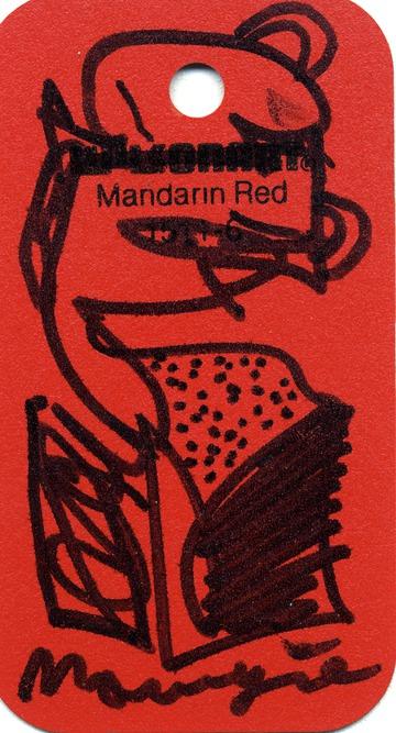 Maurice Greenia, Jr. Collections: Mandarin Red