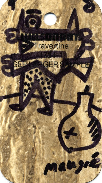 Maurice Greenia, Jr. Collections: Travertine