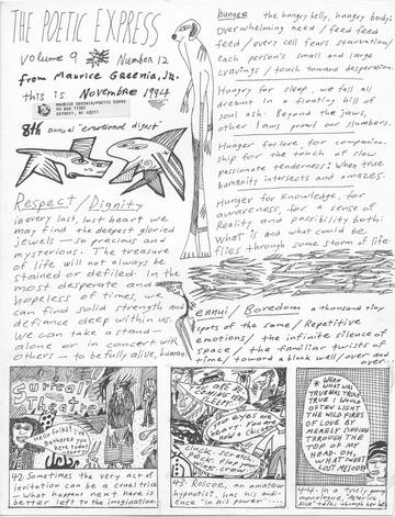 Poetic Express Volume 9 Number 12