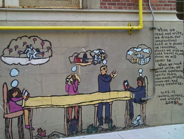 Maurice Greenia, Jr. Collections: Mural at P.S. 11. New York City, 2011