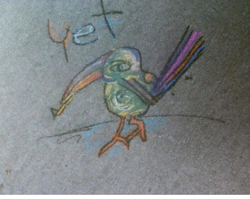 Maurice Greenia, Jr. Collections: Bird, early 1990's