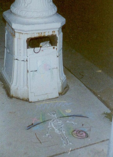 Maurice Greenia, Jr. Collections: Skeleton, 1991