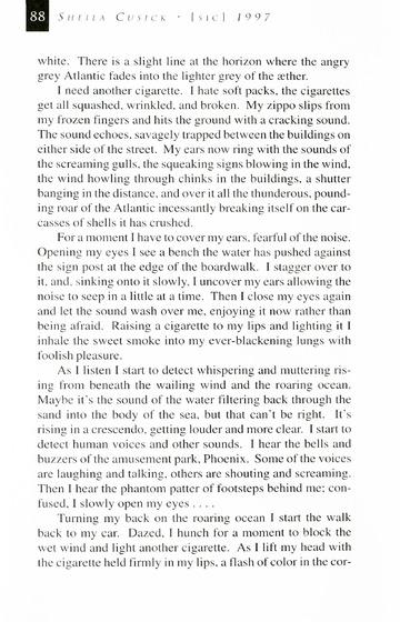 [SIC] Volume 5, Winter 1997 University of Detroit Mercy