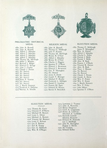 University of Detroit Yearbook Collection: The Tower 1927