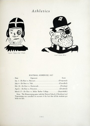 University of Detroit Yearbook Collection: The Tower 1928