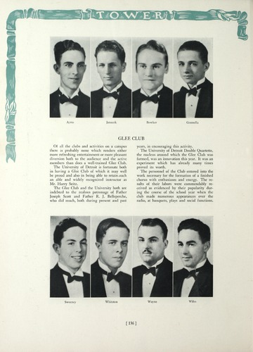 University of Detroit Yearbook Collection: The Tower 1932