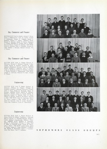 University of Detroit Yearbook Collection: The Tower