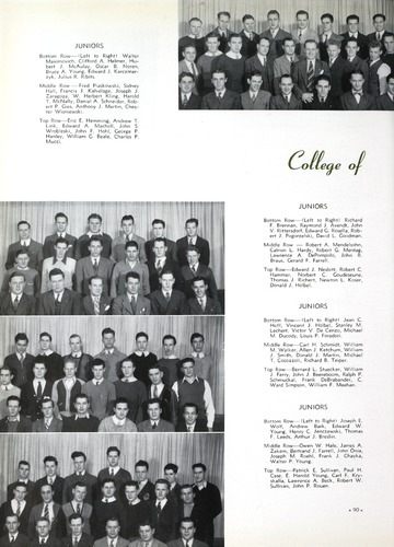 University of Detroit Yearbook Collection: The Tower '41