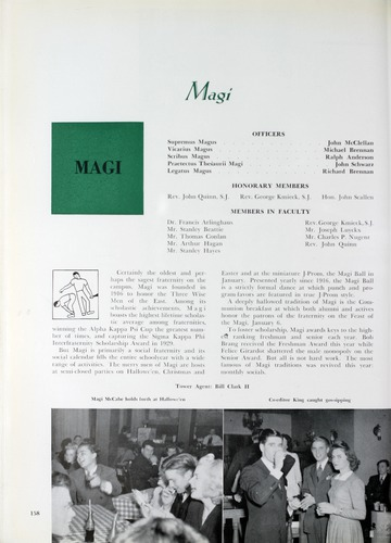 University of Detroit Yearbook Collection: A Page from Modern Hitory As Recorded by the 1942 Tower