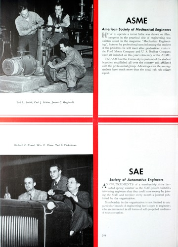 University of Detroit Yearbook Collection: The Tower '47