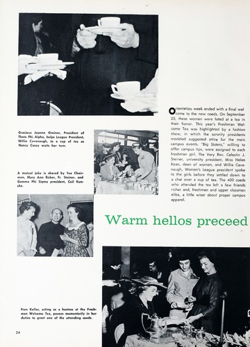 University of Detroit Yearbook Collection: Tower 1956