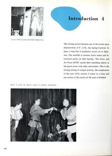 University of Detroit Yearbook Collection: 1958 Tower