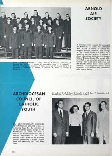 University of Detroit Yearbook Collection: Tower 1959