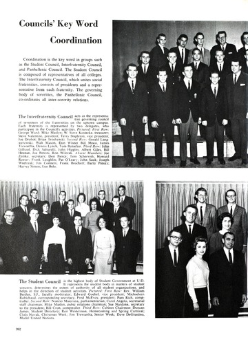 University of Detroit Yearbook Collection: Tower '62
