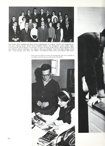 University of Detroit Yearbook Collection: 67 Tower