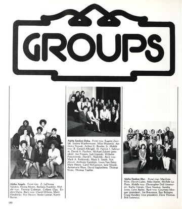 University of Detroit Yearbook Collection: Neon UD On Tap