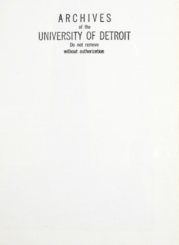 University of Detroit 1984 Tower