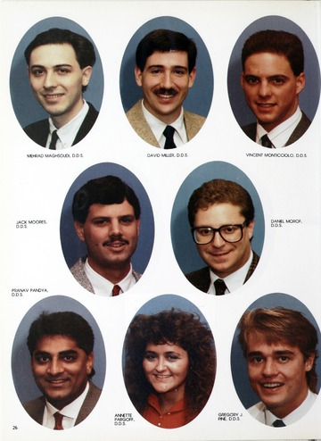 University of Detroit Yearbook Collection: University of Detroit School of Dentistry 1990 Yearbook