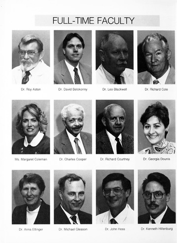 University of Detroit Yearbook Collection: Ninety Two University of Detroit Mercy Dental School Impressions