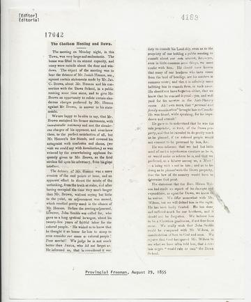 Provincial Freeman - August 29, 1855