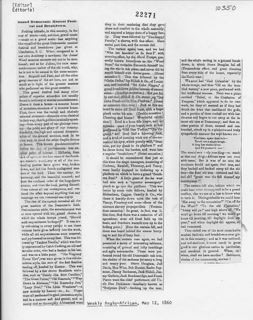 Weekly Anglo-African - May 12, 1860