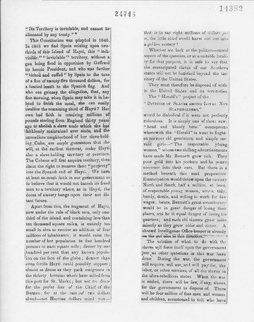 Weekly Anglo-African - November 23, 1861