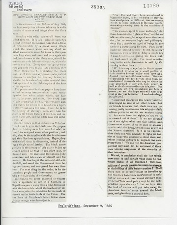 Anglo-African - September 9, 1865