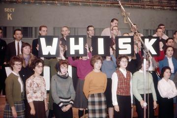 University of Detroit Chorus Collection: Rehearsal - December 1961