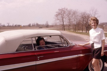 Picnic en Route to Muskegon - 1963
