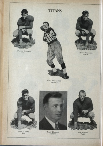 University of Detroit Football Collection: University of Detroit vs. Villanova University Program