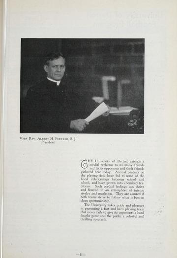 University of Detroit vs. Catholic University Program
