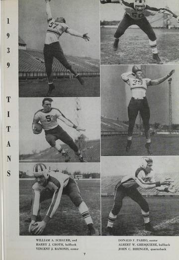 University of Detroit Football Collection: University of Detroit vs. North Carolina State Program