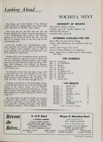 University of Detroit vs. Wayne Program