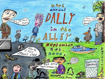 Maurice Greenia, Jr. Collections: Poster for the Dally in the Alley