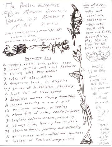 Poetic Express Volume 28 Number 9