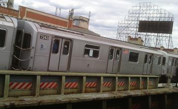 Train. New York City, 2014