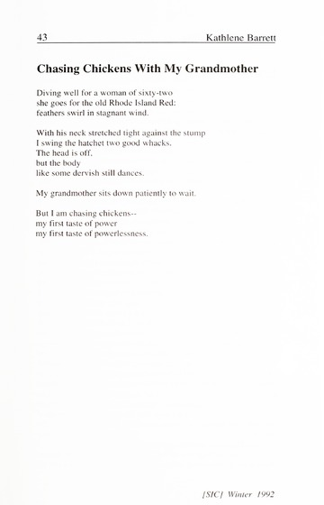 [SIC] Volume 1, Number 1, Winter 1992 University of Detroit Merc