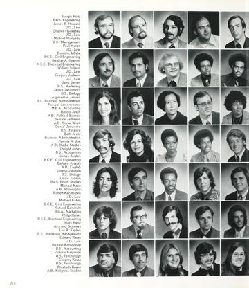 University in the Mist 1974