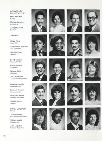 University of Detroit 1984 Tower
