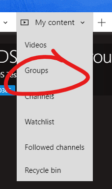 image of groups selection