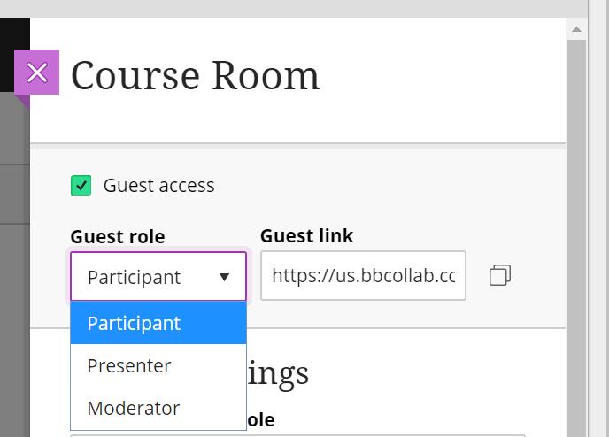 guest settings