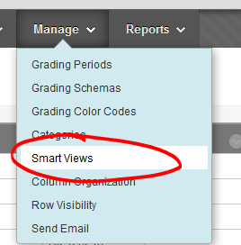 Manage smart views