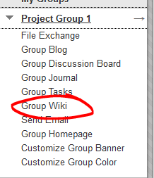 Group Wikis