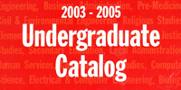 Course Catalogs + Bulletins